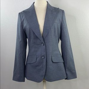 The limited gray blazer, new with tags, 8